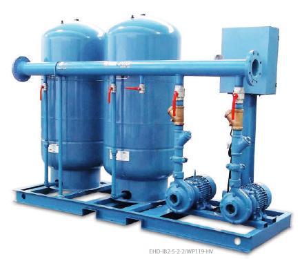 Sistema hidroneumatica Barnes Duplex presion variable ECF