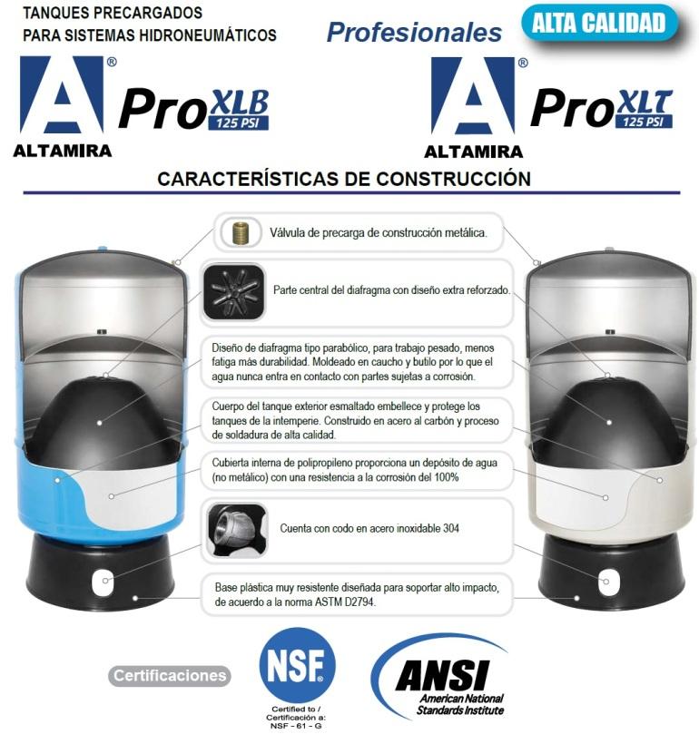 ECOFLUSA ALTAMIRA ALTA PRO XLB XLT